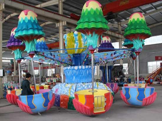 Amusement park jellyfisn rides for sale