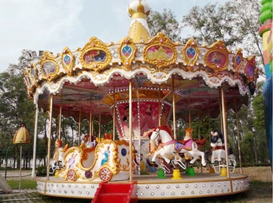 Top drive grand carousel rides for sale