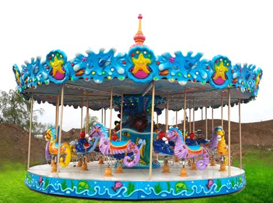 Ocean theme carousel ride for sale