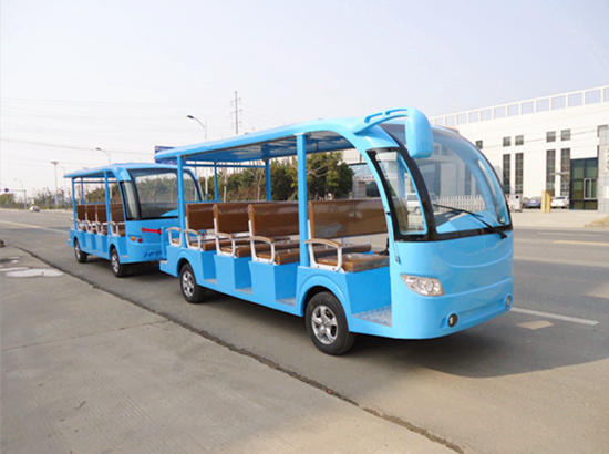 Blue electric train rides for sale
