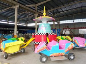 Crazy car rides for sale for amusement park