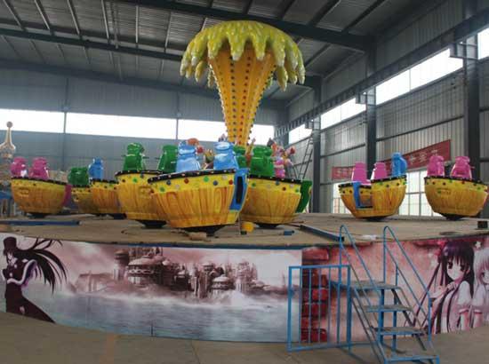 Amusement park magic gyroscope rides