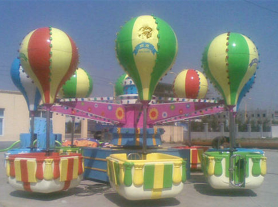 Family Rides Samba Balloon With 32 Seats