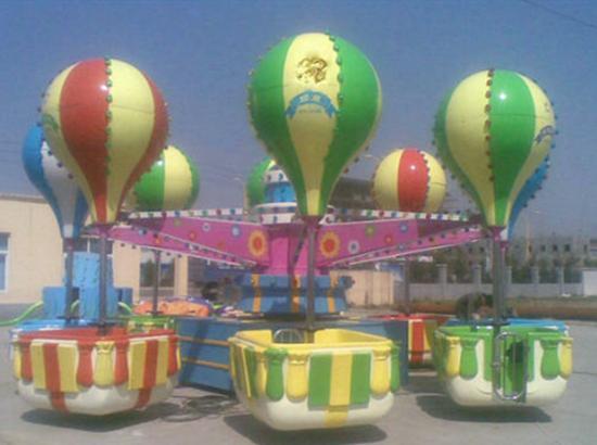 Family Rides Samba Balloon With 32 Seats