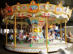 16 seat carousel rides for sale