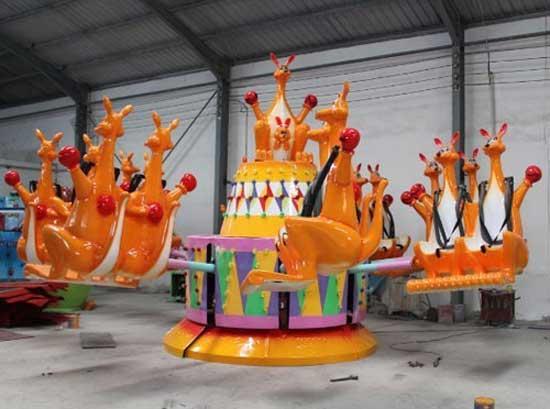 12 seat kangaroo jump amusement park rides for sale