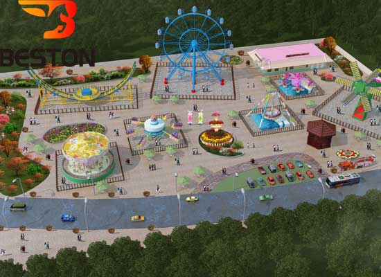Amusement park idesdesign from Beston for Outdoor Use With Logo
