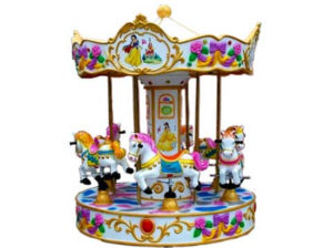 Carousel ride for sale with 6 horse