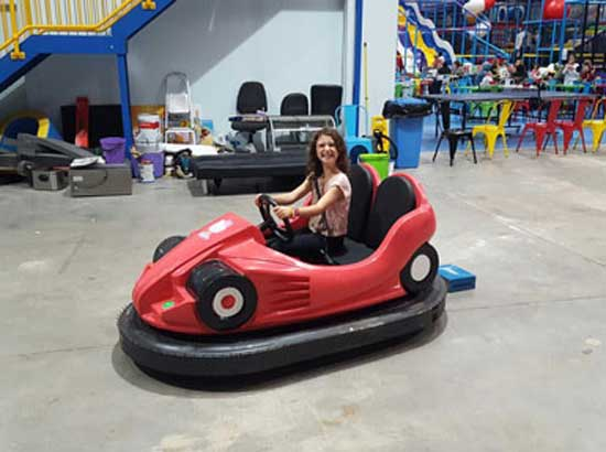 Beston amusement park bumper cars which exported to Australia