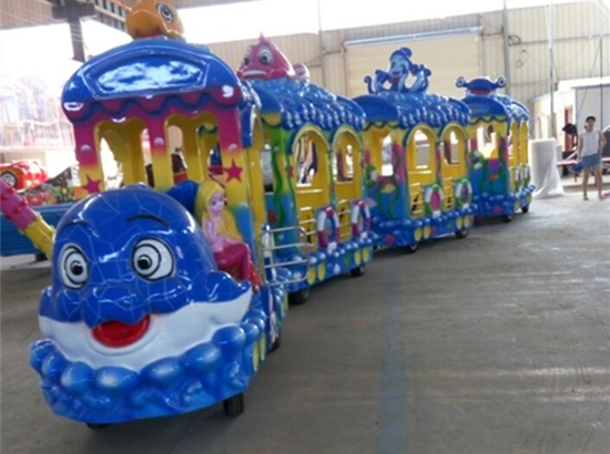 Amusement park trackless train rides for sale