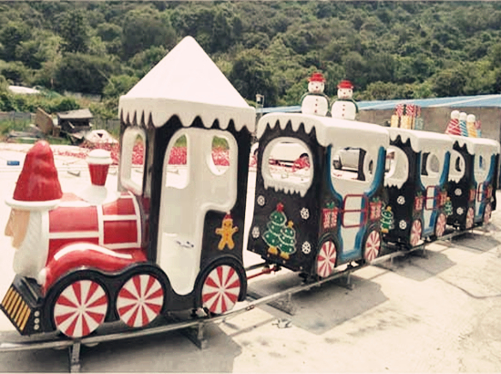 Amusement Park Christmas Track Train For Sale From Beston