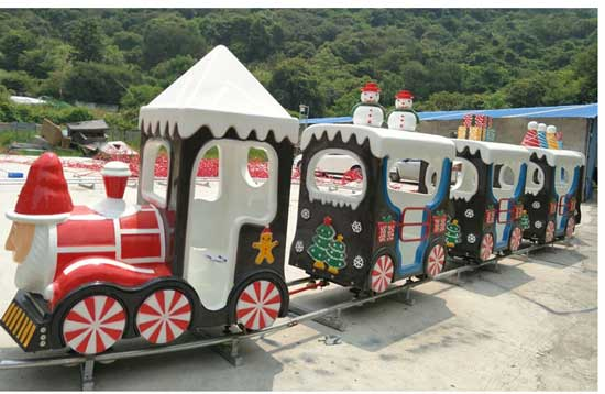 amusement park christmas train rides for sale