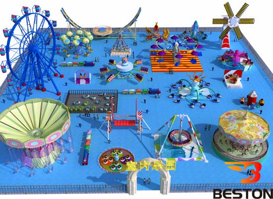 Theme Park Design Indoor Version 2