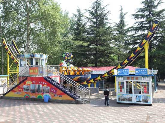 Amusement park disco