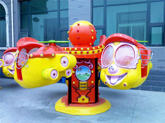 Amusement park big eye plane for kids