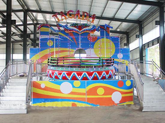 Amusement park 24 person tagada ride
