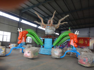Amusement park octopus rides with 30 seats for sale