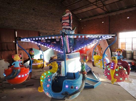 Kiddie amusement park rides for sale with mermaid