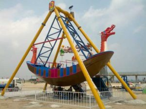 dragon pirate ship rides with 24 seat