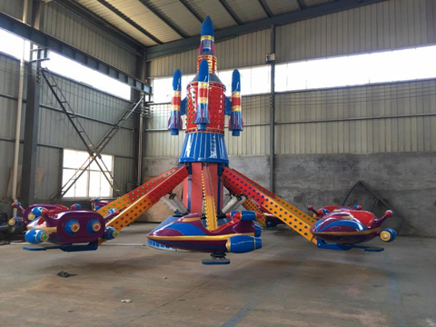 Amusement park kiddie self-control plane rides for sale