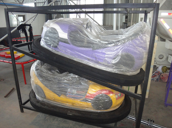Packing bumper cars