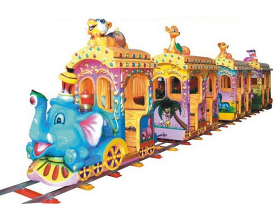 Elephant train for kids