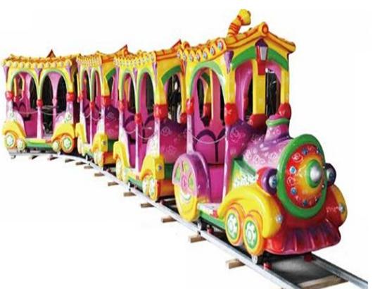 Track train for fun