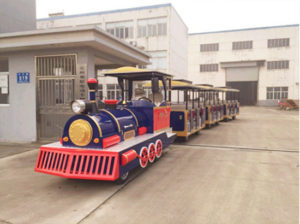 Vintage style amusement park trains for sale