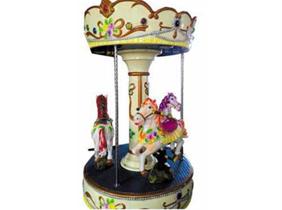 3 Horse Coin operated horse ride