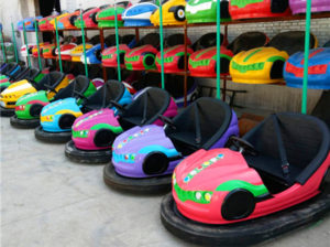 New design bumper cars, ceiling grid cars for sale