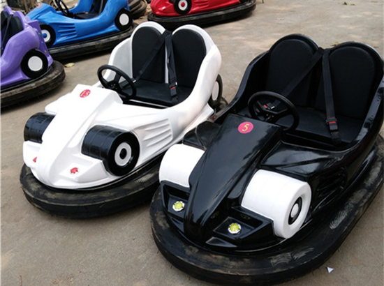 Electric mouse bumper cars for kids
