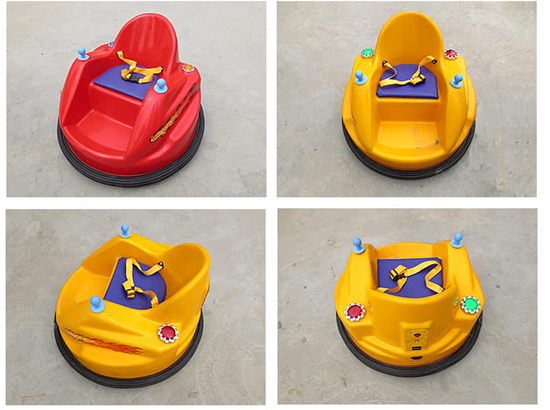 New UFO bumper cars for kids
