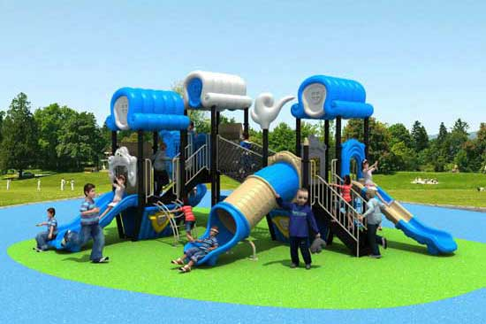 Kiddie blue theme playsets for sale