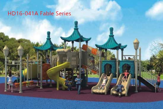 Fable Series Playground Equipment commercial grade