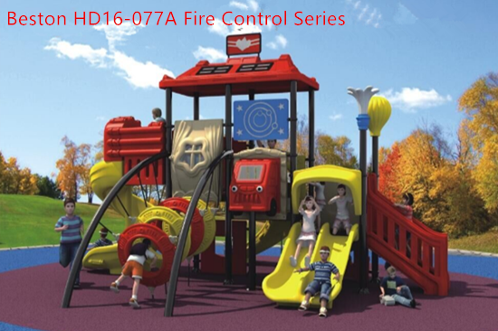 Commercial use fire control series playground equipment for sale