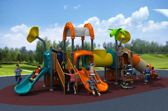 Playground equipment for kids with commercial grade