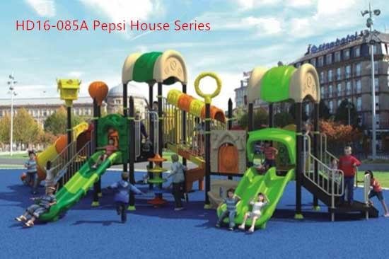 Outdoor commercial grade playground equipment for sale