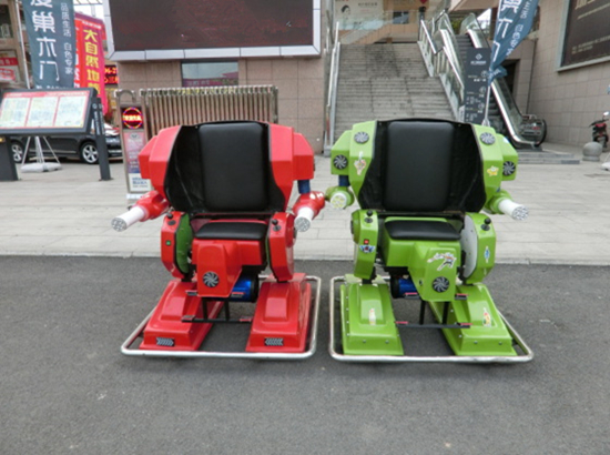 Robot ride portable amusement park rides