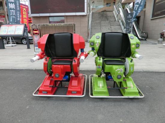 Robot ride portable amusement park rides