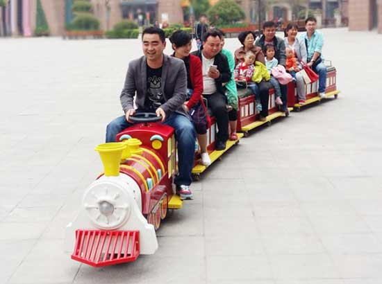 Miniature Vintage Train for Kids