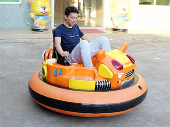 Inflatable bumper cars for funfair