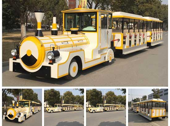 Amusement park trackless train rides manufacturer