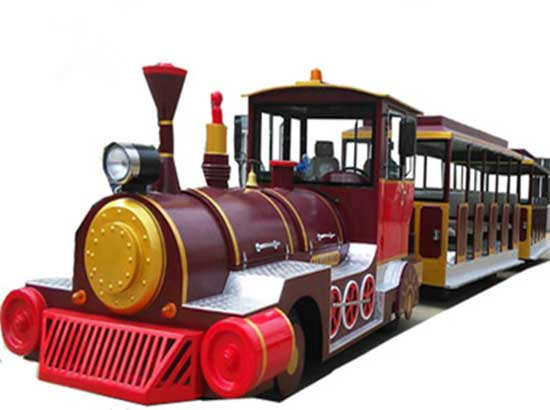 Electric trackless train rides manufacturer