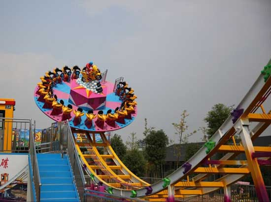 24 seat disco rides for carnivals