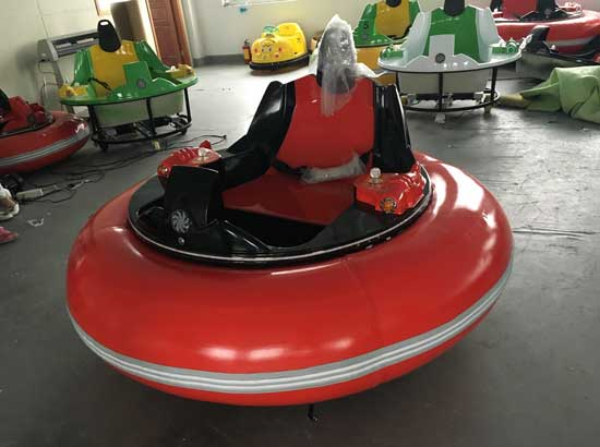 Inflatable large bumper cars with red color