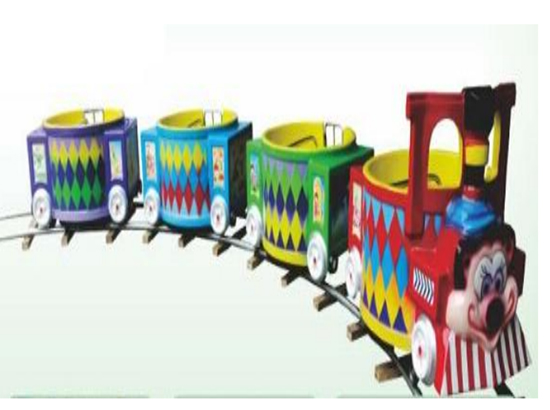 Tea cup train for shopping centers
