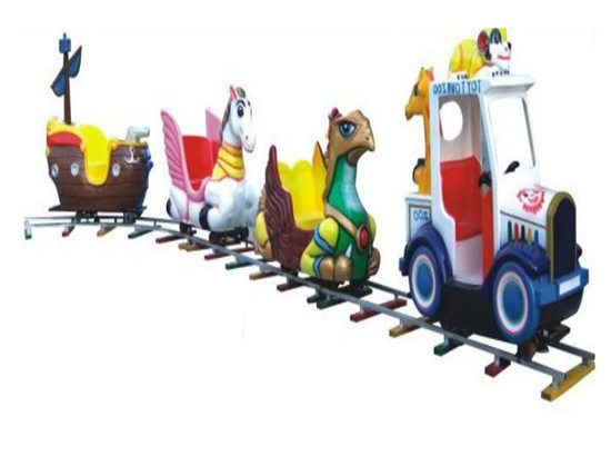 Shopping mall trains with animals shape