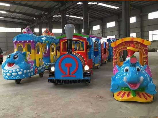 KIddie shopping mall trackless trains for sale