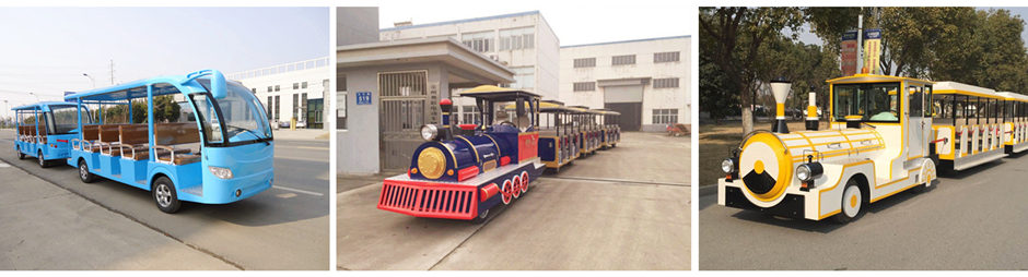 Buy amusement park trackless train for your business
