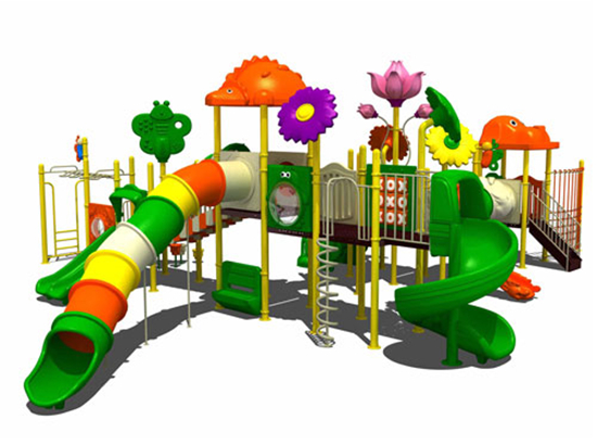 Playground equipment for shopping centre use